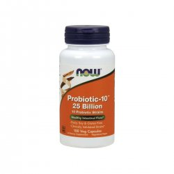 Probiotic-10 25 Billion (100 kaps) Probiotyk Now Foods