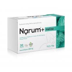 Narum+ Melisa 200 mg (30 kaps) Probiotyk Lactobacillus Acidophilus Narine