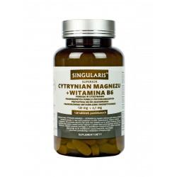 Cytrynian Magnezu 120 mg + Witamina B6 (120 tab) Singularis