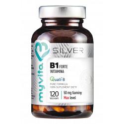 Witamina B1 Forte Tiamina 50 mg (120 kaps) Silver MyVita