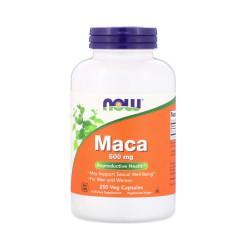 Maca Korzeń 500 mg (250 kaps) Libido Now Foods