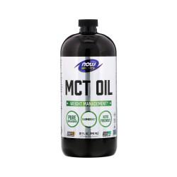 Olej MCT Pure (946 ml) Dieta Ketogeniczna Low Carb Now Foods
