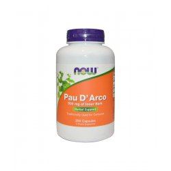 PAU D'ARCO Lapacho 500 mg (250 kaps) Now Foods
