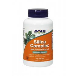 Silica Complex (90 tab) Detoks Krzem Bor Mangan Bentonit Now Foods