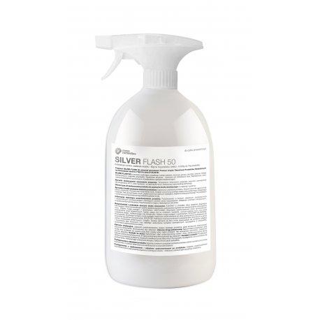 SILVER FLASH 50 Antybakteryjny Preparat 500 ml ze Srebrem Monojonowym Invex Remedies