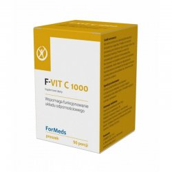 F-VIT C 1000 Witamina C Proszek 90 g ForMeds