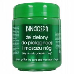 Bingo Gel Zielony do Masażu i Wcierania 500g BINGO
