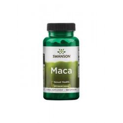 Maca Sproszkowany Korzeń 500 mg (100 kaps) Swanson