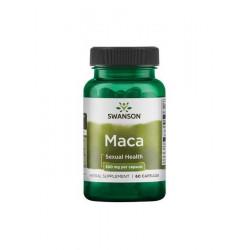 Maca Korzeń Ekstrakt 4:1 500 mg (60 kaps) Swanson