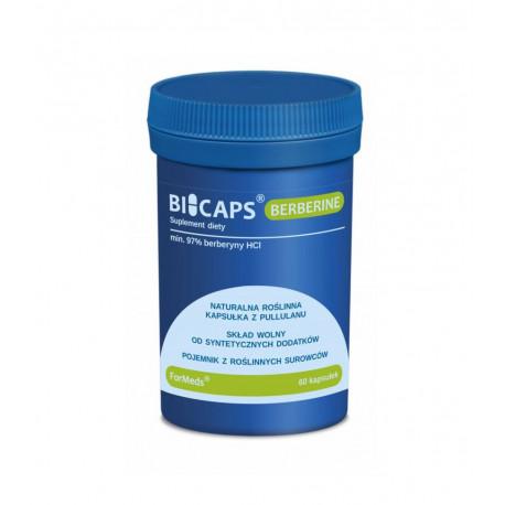 BICAPS Berberine Berberyna HCL (60 kaps) ForMeds