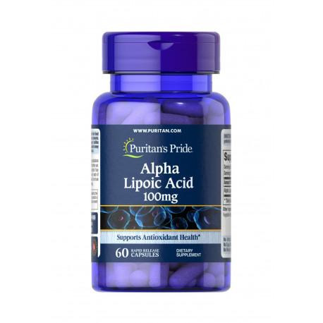 Kwas Alfa Liponowy ALA 300 mg (60 kaps) Puritan\'s Pride