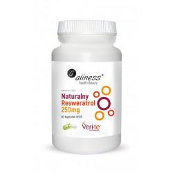 Naturalny Resveratrol Veri-Te 250 mg Resweratrol (60 kaps) Aliness