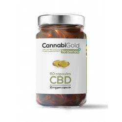 Kapsułki Terpenes+ (60 szt.) x 10 mg CannabiGold