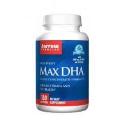 MAX DHA Kwasy Tłuszczowe Omega-3 DHA 600 mg (180 sgels) Jarrow Formulas
