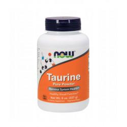 Taurine Tauryna Czysty Proszek 227 g Aminokwasy Now Foods