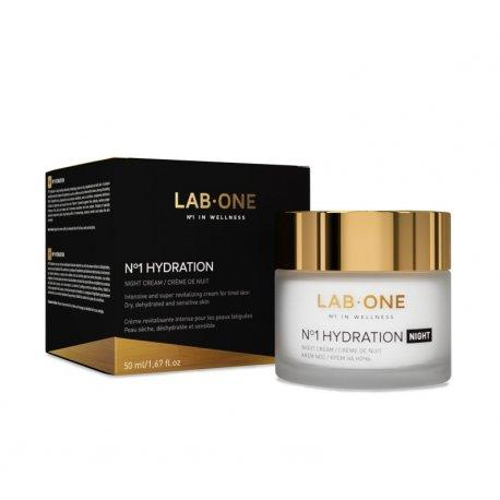 Nr 1 Hydration Night Krem Rewitalizujący Na Noc 50 ml Lab One