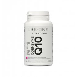 Nr 1 Coenzyme Q10 Ubichinol 100 mg Koenzym (60 kaps) Lab One