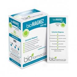 Organiczny Bio Magnez 500 mg (20 saszetek) Biofarmacja
