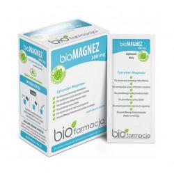 Organiczny Bio Magnez 300 mg (30 saszetek) Biofarmacja