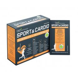 Elektrolity + Sole Mineralne Sport & Cardio Magnez Potas Cynk (14 saszetek) Biofarmacja