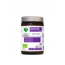 Ostropest + Karczoch BIO 400 mg (50 kaps) Sylimaryna Cynaryna WĄTROBA BeOrganic