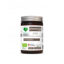 Ashwagandha BIO 200 mg (50 kaps) Stres BeOrganic
