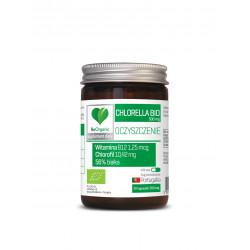 Chlorella BIO 500 mg OCZYSZCZANIE Chlorofil Detox (50 kaps) BeOrganic