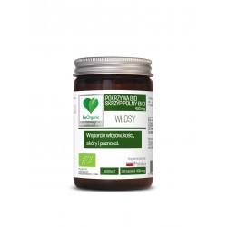 Pokrzywa + Skrzyp BIO 400 mg (100 tab) WŁOSY BeOrganic