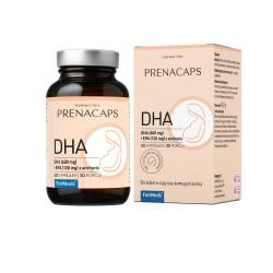 PRENACAPS Kwasy Omega-3 DHA 600 mg i EPA 120 mg z Anchovis (60 kaps) ForMeds
