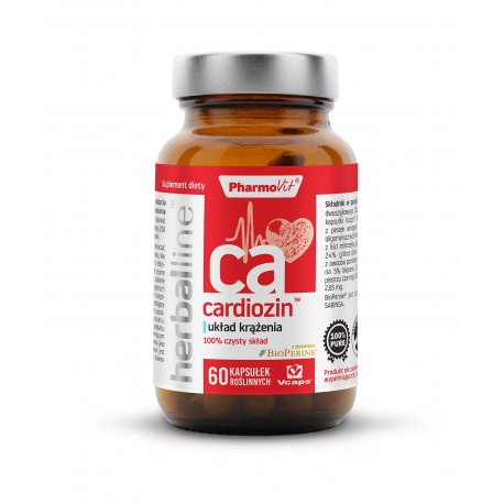 Cardiozin Układ krążenia 6w1 (60 kaps) Herballine Pharmovit