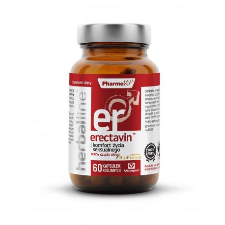 Erectavin Komfort Życia Seksualnego 6w1 (60 kaps) Herballine Pharmovit