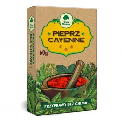 Pieprz Cayenne Przyprawa 60 g Bez Chemii Dary Natury
