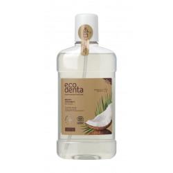 Minty Coconut Organiczny Płyn do Płukania Jamy Ustnej z Sokiem z Aloesu i Ekstraktem z Kokosa 500 ml ECODENTA