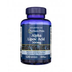 Kwas Alfa Liponowy ALA 300 mg (120 kaps) Puritan's Pride