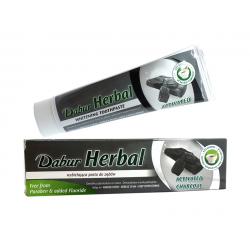 Czarna Pasta do Zębów z Węglem Aktywnym 100 ml Dabur Herbal