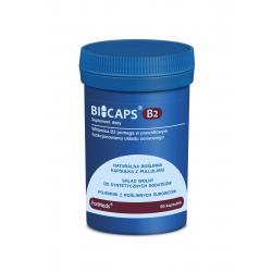 BICAPS Witamina B2 Ryboflawina 40 mg + Inulina (60 kaps) ForMeds
