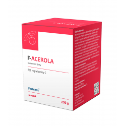 F-Acerola Proszek 250 g Odporność Naturalna Witamina C ForMeds