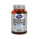 Men's Active Sports Multi (90 sg) Zestaw Witamin i Minerałów dla Aktywnych Mężczyzn Now Foods