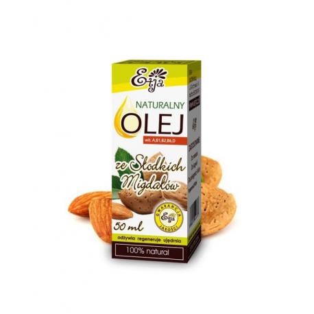 Olej Ze Słodkich Migdałów Naturalny 100%  50ml Etja