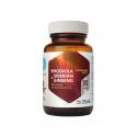 Rhodiola & Siberian Ginseng Różeniec Górski i Żeń-Szeń Syberyjski Ekstrakt 225 mg (90 kaps) Hepatica