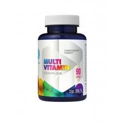 MultiVitamin Complex Witaminy i Minerały Kompleks (90 kaps) Hepatica