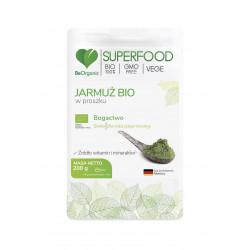 Jarmuż Bio SuperFood Proszek 200 g BeOrganic