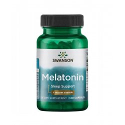 Melatonina 1mg (120kaps)  SWANSON