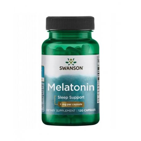 Melatonina 1mg (120kaps)  SWANSON