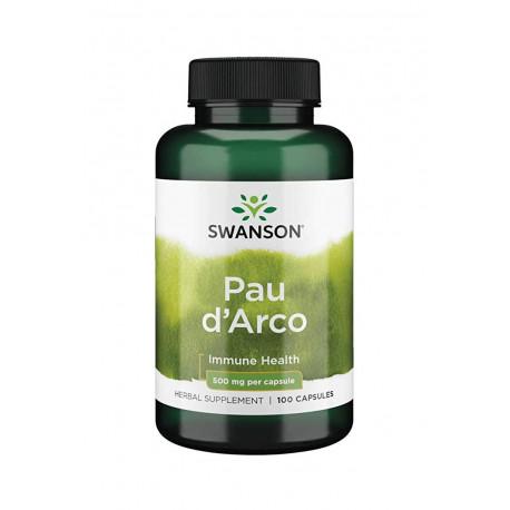 PAU D\'ARCO Lapacho 500mg (100kaps) Pau Darco SWANSON