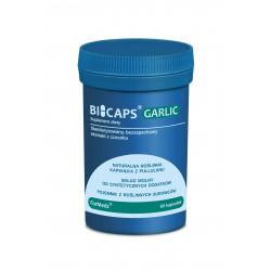 BICAPS Garlic Czosnek Bezzapachowy Ekstrakt 100 mg (60 kaps) ForMeds