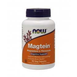 Magtein Magnez L-Treonian Magnezu (90 kaps) Now Foods