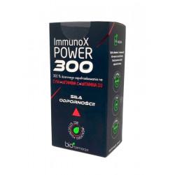 ImmunoX POWER 300 Cynk + Witamina C + Witamina D3 (14 saszetek) Biofarmacja