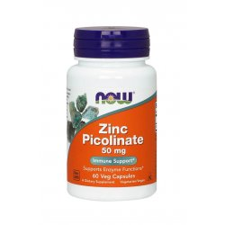 Zinc Picolinate 50 mg (60 kaps) Pikolinian Cynku Now Foods