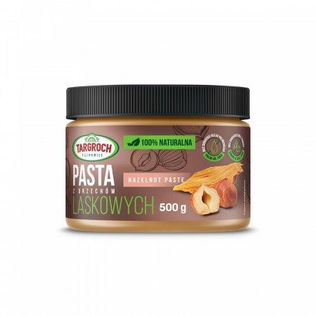 Pasta z Orzechów Laskowych 500 g TARGROCH